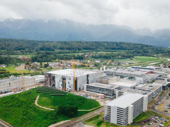 Infineon Standort in Kärnten
